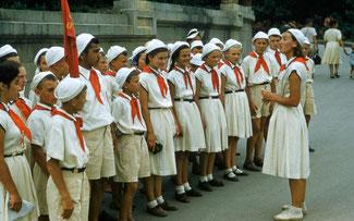 Пионеры 50-х годов