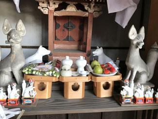 初末社「稲荷社」初午祭