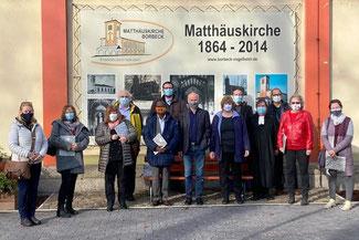 v. l. n. r.: S. Schigulski, K. Raffler-Spierling, A. Reekers, O. Schlusen, S. Arthur, J. Kuhlemann, Th. Hartung, H. Drewes, D. Längert, U. Schreiner-Menzemer, U. Gerwin, M. Ahne-Gier, B. Reitz. Nicht im Bild:  S. Bendix, Dr. A. Döring u. Chr. Roob