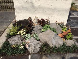 広島 庭づくり 花壇づくり 庭 廿日市 小さなお庭 リフォーム
