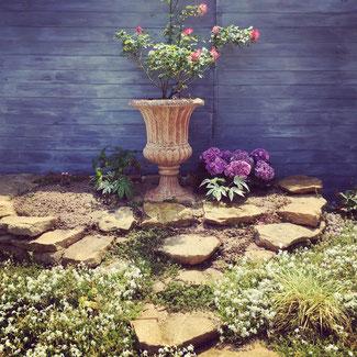 広島 バラ 薔薇のある暮らし 廿日市 ガーデンルーム 庭づくり