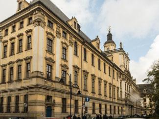 Bild: Die Universität von Breslau von außen