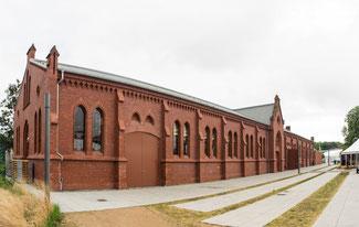 Bild: Die Exerzierhalle in der Lutherstadt Wittenberg