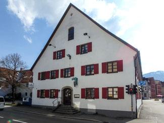 """Bild: Gasthof """"Traube"""" in der Kemptner Straße 2 in Immenstadt"""