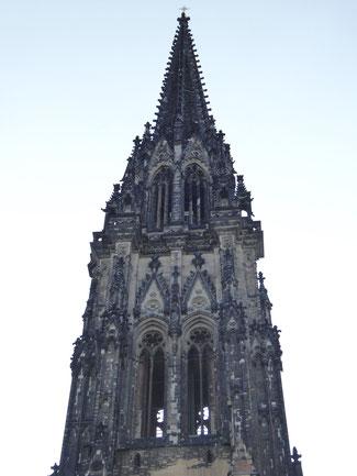Bild: Mahnmal St. Nikolai Kirche in der Altstadt