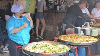 Bild: Leckeres Essen im Chinatown von Bangkok
