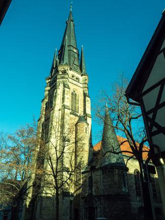 Bild: Liebfrauenkirche in Wernigerode im Harz