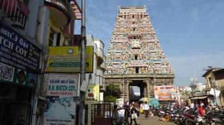 Bild: Straßenbild in Chennai