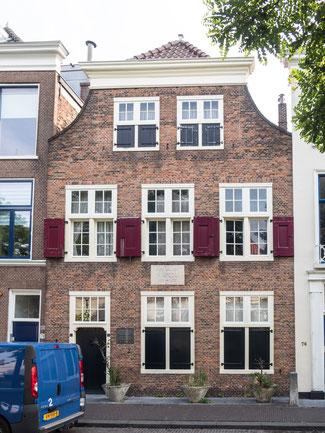 Bild: Das Spinozahuis in Den Haag