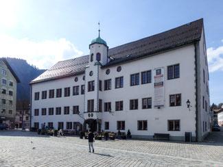Bild: Ehemaliges Schloss am Marienplatz in Immenstadt im Allgäu