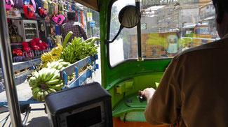 Bild: Blick au dem Auto in Chennai