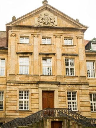 Bild: Bischöfliche Kanzlei in Osnabrück