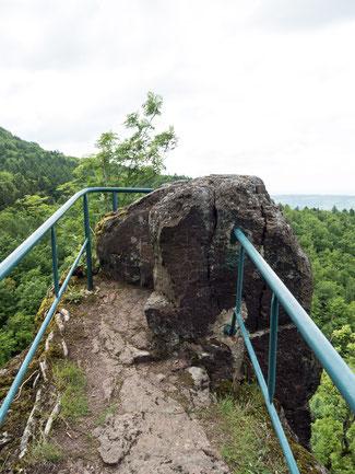 Bild: Bielstein im Gottestal bei Ilfeld im Südharz