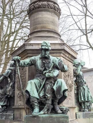 Bild: Das Lornsendenkmal in Rendsburg