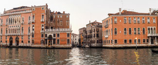 Bild: Palazzo Barbarigo am Canal Grande in Venedig
