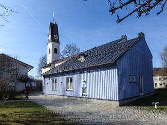 Bild: Evangelische Erlöserkirche in der Mittagstraße 10 in Immenstadt