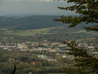 Bild: Blick auf die Stadt Sanok