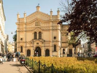 Bild: Synagoge Kazimierz in Krakau / Polen