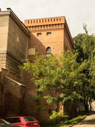 Bild: Der Schloßturm von Oppeln