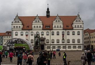 Bild: Altes Rathaus von Wittenberg