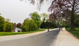 Bild: Der Noorderplantsoen, ein Park in Groningen