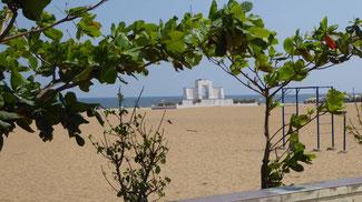 Bild: Der zweitlängste Strand der Welt (Chennai)