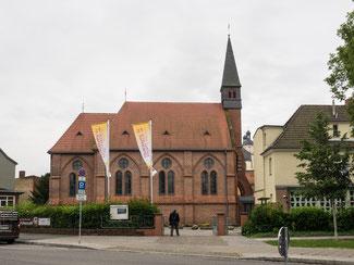 Bild: Katholische Kirche Unbefleckte Empfängnis in der Lutherstadt Wittenberg