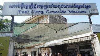 Bild: Das erschütternde Genozid-Museum in Phnom Pen