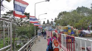 Bild: Niemandsland zwischen Thailand und Kambodscha