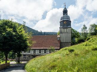 Bild: Die Maria Magdalenen Kirche in Wildemann