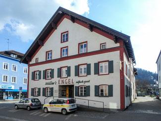 Bild: Gasthof Engel in der Salzstraße 4 in Immenstadt