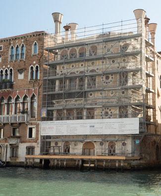 Bild: Der Palazzo Dario, einer der bekanntesten Paläste Venedigs.