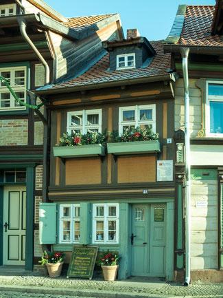 Bild: Kleinste Haus in Wernigerode