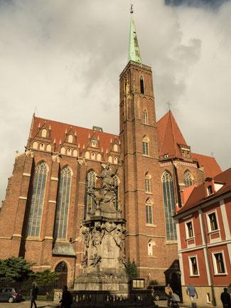 Bild: Die Heiligkreuzkirche in Breslau