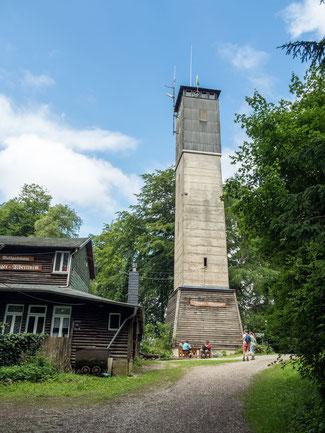 Bild: Aussichtsturm Iberger Albertturm im Harz