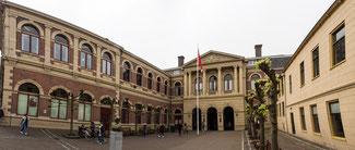 Bild: Harmoniekomplex mit den Fakultäten Rechts- und Geisteswissenschaften in Groningen
