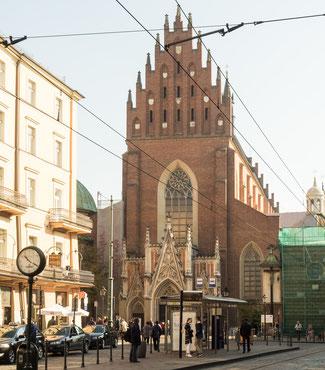 Bild: Dominikanerkloster in Krakau