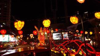 Bild: Das Chinesische Sylvester in Singapur