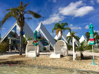 Bild: Pyramide Village Park südlich von Fort Myers in Florida