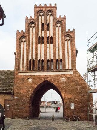 Bild: Wassertor in Wismar