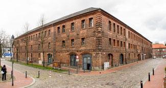 Bild: Das Provianthaus in Rendsburg
