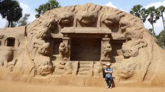 Bild: Baudenkmal - Mahabalipuram in der Nähe von Chennai