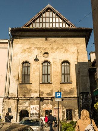Bild: Die Hohe Synagoge in Krakau im Stadtteil Kazimierz