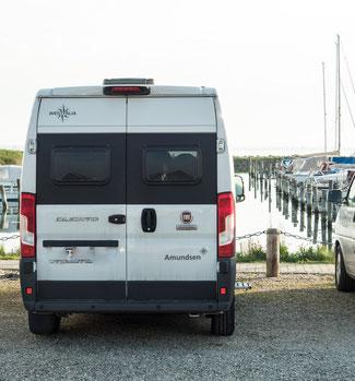 Unser kostenloser Stellplatz in Årøsund
