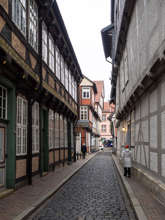Bild: Die Kalandgasse in Celle