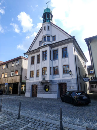 Bild: Rathaus am Marienplatz 16 in Immenstadt im Allgäu