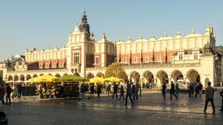 Bild: Der Marktplatz von Krakau