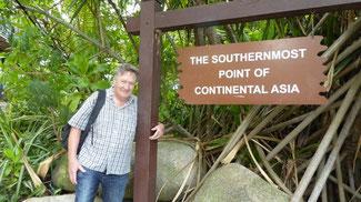 Bild: Der südlichste Punkt Asiens