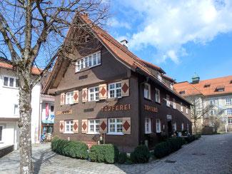 Bild: Die Kosterbächerrei Hörmannshaus in Immenstadt am Klosterplatz 3