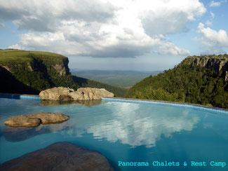 Bild: Panoramahuf Graskop Gorge und Lowveld in Südafrika